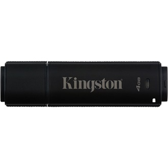 Kingston 4GB DT4000 G2 Secure Hardware Encryption vízálló ütésálló USB3.0 pendrive fekete