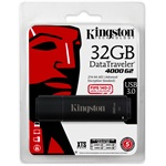 Kingston 32GB DT4000 G2 Secure Hardware Encryption vízálló ütésálló USB3.0 pendrive fekete
