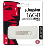 Kingston 16GB DataTraveler SE9 G2 USB 3.0 pendrive ezüst