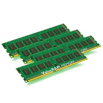 Kingston 32GB 1333MHz DDR3 memória ECC Registered Low-Voltage CL9 Kit of 4