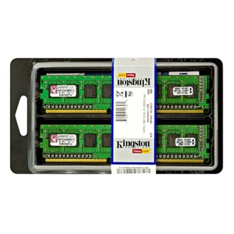 Kingston 4GB 1333MHz DDR3 memória Non-ECC CL9 Kit of 2