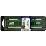 Kingston 2GB 1333MHz DDR3 memória Non-ECC CL9 SR X16