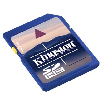 Kingston 32GB Secure Digital Class 4 SDHC memóriakártya