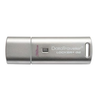 Kingston 32GB DataTraveler Locker+ G2 w/Automatic Data Security USB2.0 pendrive ezüst