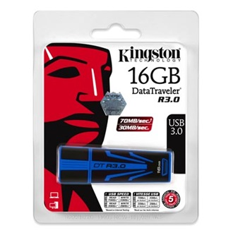 Kingston 16GB DataTraveler R30 USB3.0 pendrive kék