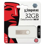 Kingston 32GB DataTraveler SE9 USB2.0 pendrive ezüst