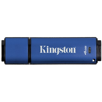 Kingston 4GB DataTraveler Vault Privacy (Management Ready) vízálló USB3.0 pendrive