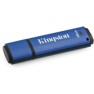Kingston 16GB DataTraveler Vault Privacy (Management Ready) vízálló USB3.0 pendrive