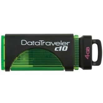 Kingston 4GB USB 2.0 Data Traveler C10 Memory Pen, zöld