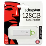 Kingston 128GB Data Traveler Generation 4 USB3.0 pendrive zöld