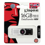 Kingston 16GB Data Traveler 101 Generation 2 USB 2.0 pendrive fekete
