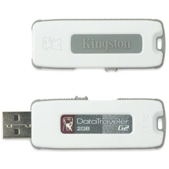 Kingston 2GB USB 2.0 Data Traveler Generation 2 Memory Pen, szürke