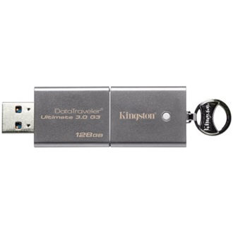 Kingston 128GB Data Traveler Generation 3 Ultimate USB3.0 pendrive szürke