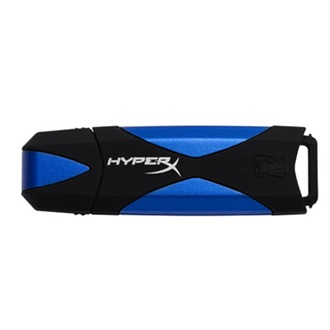 Kingston 64GB Data Traveler HyperX  USB3.0 pendrive kék