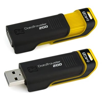 Kingston 64GB USB 2.0 Data Traveler 200 Memory Pen