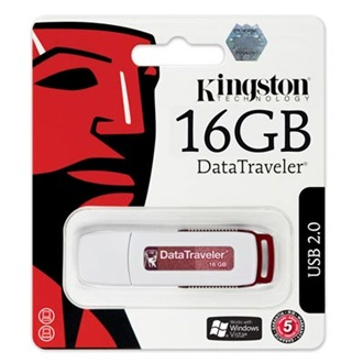 Kingston 16GB USB 2.0 Data Traveler Memory Pen (5év)