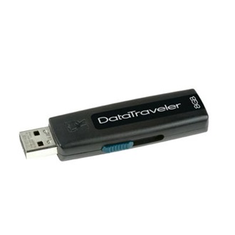 Kingston 8GB USB 2.0 Data Traveler 100 Memory Pen (5év)