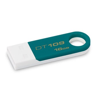 Kingston 16GB USB 2.0 Data Traveler 109 Memory Pen, kékeszöld