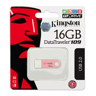 Kingston 16GB USB 2.0 Data Traveler 109 Memory Pen, rózsaszín
