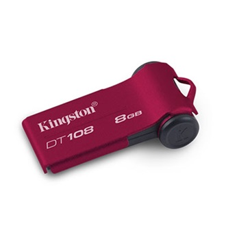 Kingston 8GB USB 2.0 Data Traveler 108 Memory Pen,vörös