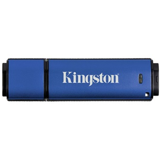 Kingston 16GB DataTraveler Vault Privacy 3.0 USB3.0 pendrive kék