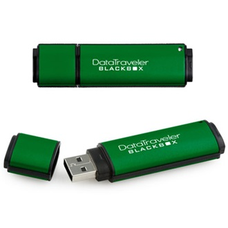 Kingston 2GB USB FIPS 140-2 level 2 DataTraveler BlackBox , Zöld