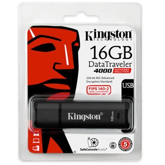 Kingston 16GB Secure Hardware Encryption (Management Ready) USB2.0 pendrive