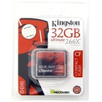 Kingston 32GB Ultimate 266x Compact Flash memóriakártya
