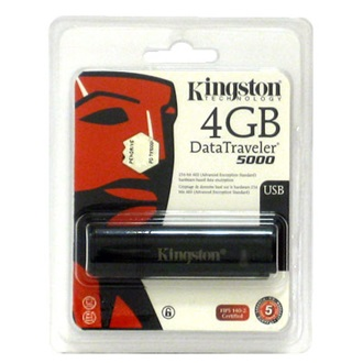Kingston 4GB USB2.0 Ultra Secure Hardware Encryption pendrive