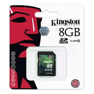 Kingston 8GB Video Secure Digital Class 10 UHS-I SDHC memóriakártya