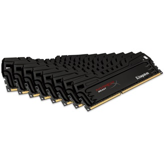 Kingston HyperX Beast 64GB 2133MHz DDR3 memória Non-ECC CL11 Kit of 8 XMP w/Fan