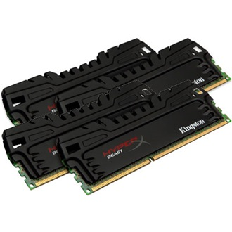 Kingston HyperX Beast 16GB 1866MHz DDR3 memória Non-ECC CL10 Kit of 4