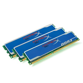 Kingston HyperX Blu 16GB 1600MHz DDR3 memória Non-ECC CL10 Kit of 2