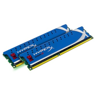 Kingston HyperX Blu 16GB 1600MHz DDR3 memória Non-ECC CL10 Kit of 2 XMP