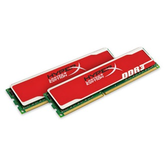 Kingston HyperX Blu 8GB 1600MHz DDR3 Non-ECC CL9 DIMM (Kit of 2) XMP (Red)