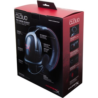 Kingston HyperX Cloud stereo headset fekete-piros