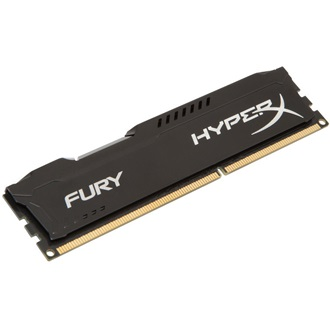 Kingston HyperX Fury Black 8GB 1600MHz DDR3 memória Non-ECC Low-Voltage CL10 1.35V