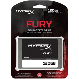 "Kingston HyperX Fury 120GB SATA3 2,5"" SSD"