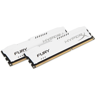 Kingston HyperX Fury White 8GB 1866MHz DDR3 memória Non-ECC CL10 Kit of 2