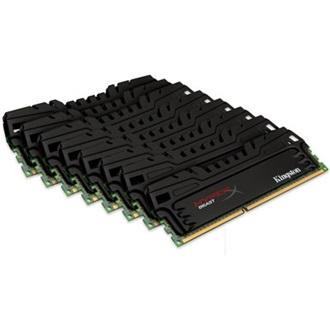 Kingston HyperX 64GB 1866MHz DDR3 CL10 DIMM (Kit of 8) XMP Beast Series