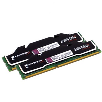 Kingston HyperX 4GB 1600MHz DDR3 Non-ECC CL9 DIMM (Kit of 2) Black Limited Edition