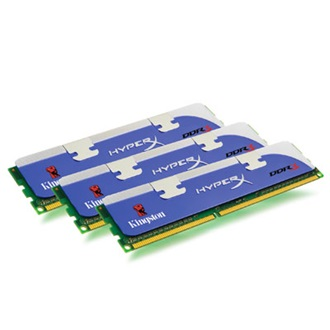 Kingston HyperX 3GB 1333MHz DDR3 Non-ECC CL7 DIMM (Kit of 3) XMP