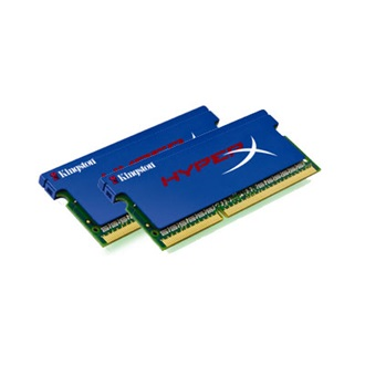 Kingston HyperX PnP 8GB 1866MHz DDR3 - SODIMM memória Non-ECC CL11 Kit of 2
