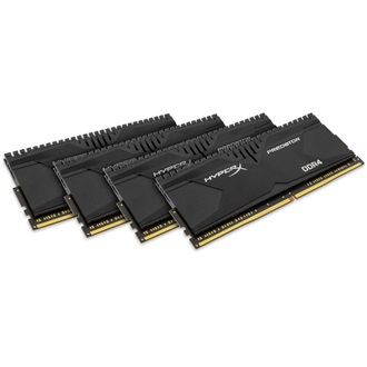 Kingston HyperX Predator 16GB 2800MHz DDR4 memória Non-ECC CL14 Kit of 4 XMP
