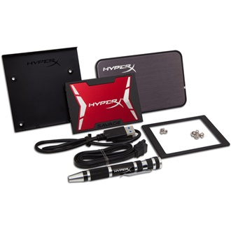 "Kingston HyperX SAVAGE 480GB SATA3 2,5"" SSD Bundle Kit"