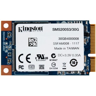 Kingston SSDNow mS200 30GB mSATA SSD