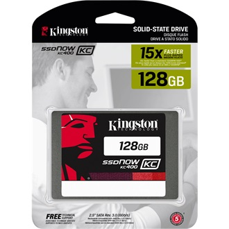 Kingston SSDNow KC400 128GB SATA3 2,5 SSD Upgrade Bundle Kit