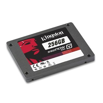 "Kingston SSDNow V100 256GB SATA 2,5"" belső Solid State Drive"
