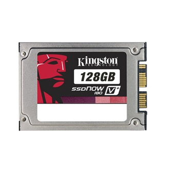 "Kingston SSDNow V+ 180 128GB SATA 1,8"" belső Solid State Drive"