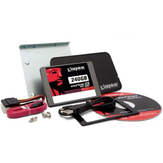 "Kingston SSDNow V300 240GB SATA3 2,5"" SSD Upgrade Bundle Kit"
